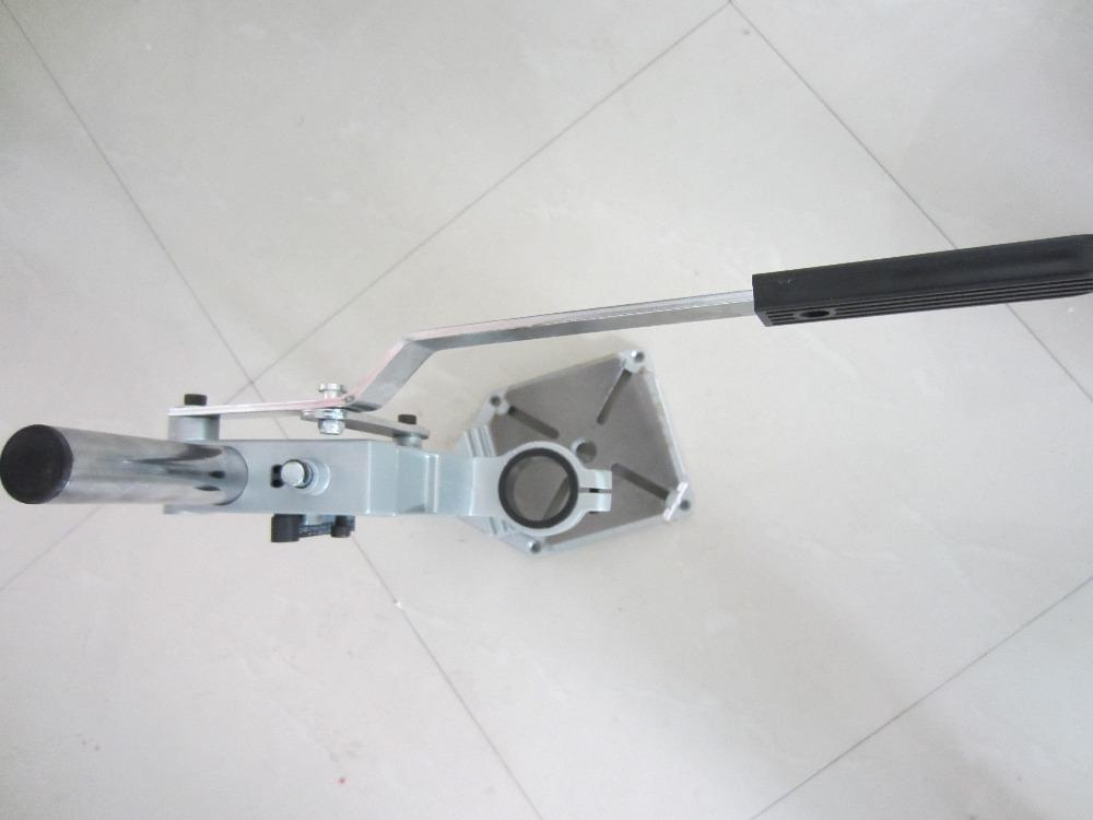Flex shaft hanger adjustable rotary flexshaft tool holder