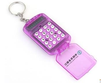 Freeshipping mini calcualtor/ gift calculator/key calcualtor