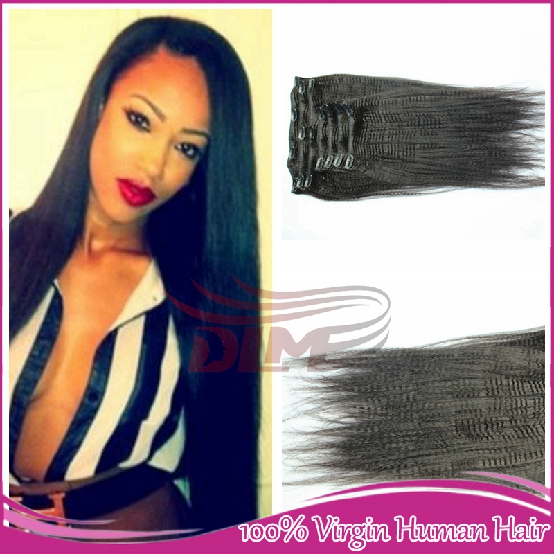 Clip Ins For Thick Hair Clip in Thick Human Hair
