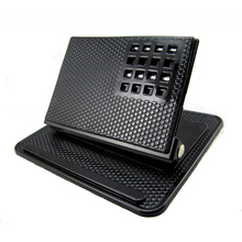 Quality New Design Sticky Mat Anti Slip Pad Car Flat Holder Dash Support for Cellphone WLDE Hot(China (Mainland))