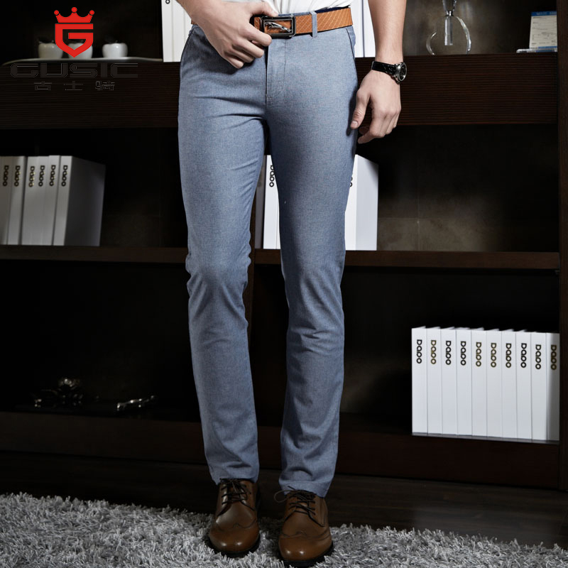 Здесь можно купить  Fashion Men Casual Pants High-end Brand GUSIC Pants Men Business Long Trousers Mens Cotton Summer Pants Stretch Slim Pant 3226 Fashion Men Casual Pants High-end Brand GUSIC Pants Men Business Long Trousers Mens Cotton Summer Pants Stretch Slim Pant 3226 Одежда и аксессуары