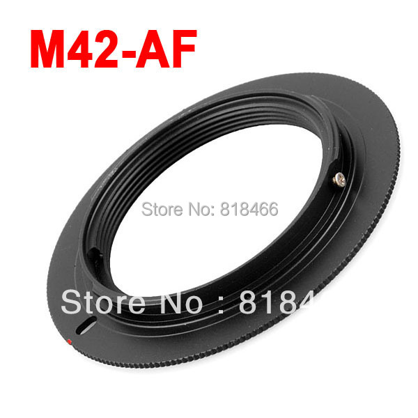 Free shipping+ tracking number M42-AF M42 Lens to for SONY AF Mount Adapter Ring for a77 a65 a55 a33 a390 a700 a580<br><br>Aliexpress