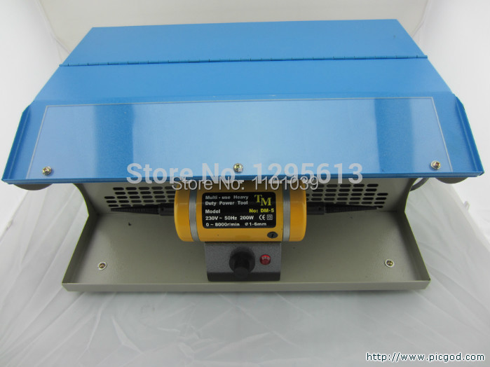 2014 jewelry making tools ,Polishing motor with Dust Collector,mini bench lathe,jewelry table polisher(China (Mainland))