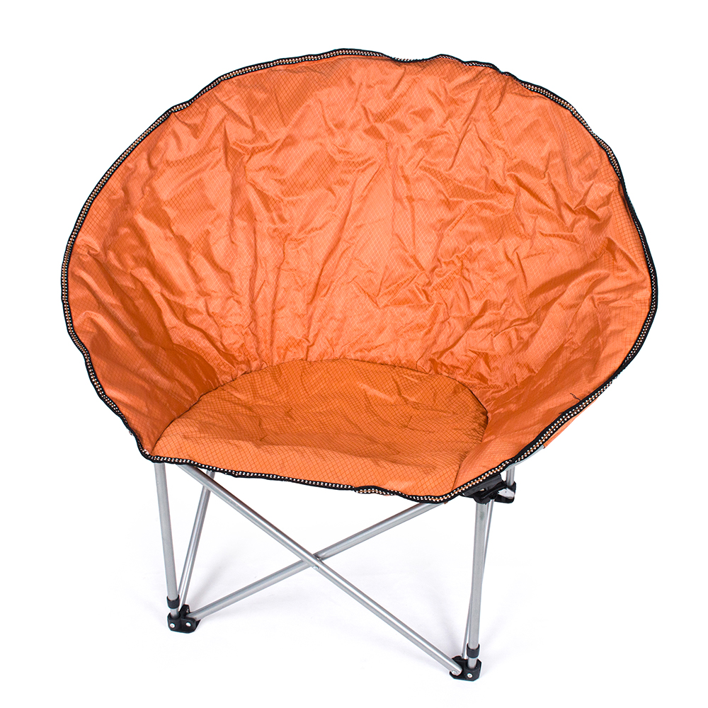 Orange Durable Camping Beach Indoor/Outdoor Leisure Moon Chair Folding Chair Fishing Chair(China (Mainland))