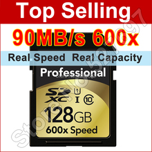 Brand New 90MB/s 600x 16GB 32GB 64GB 128GB SD Card SDHC SDXC Class 10 Flash Memory Card UHS-I For Canon Nikon Digital SLR Camer(China (Mainland))