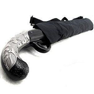 Free Shipping Unisex Hot New Creative Western spear Samurai gun umbrella Special umbrella #242(China (Mainland))