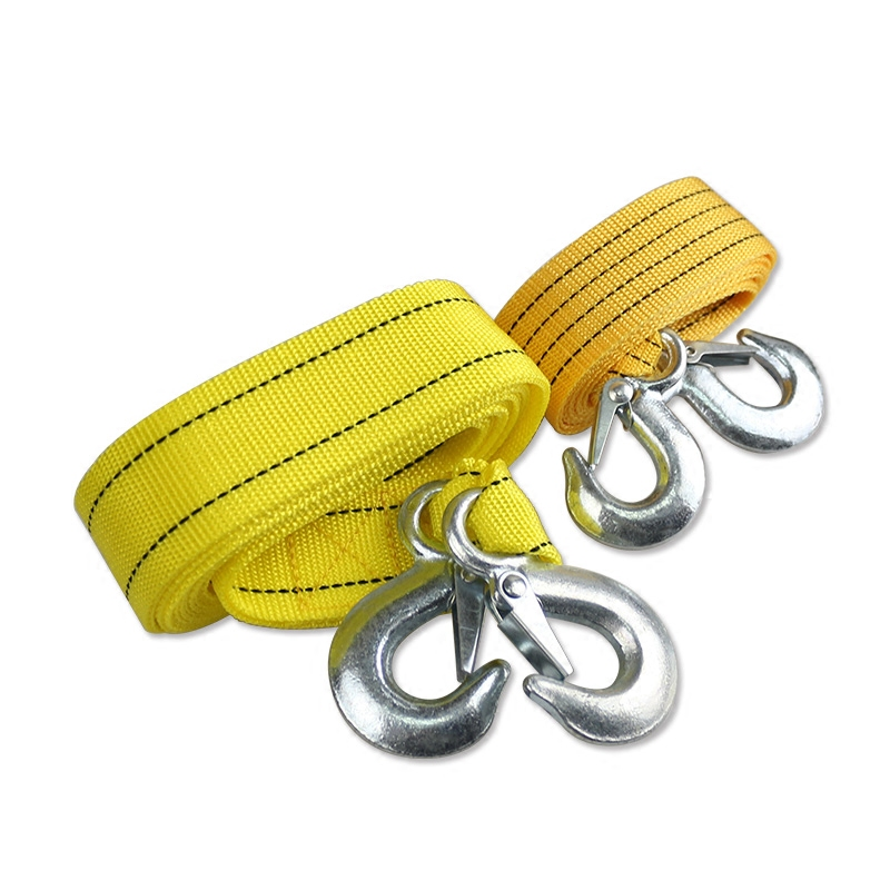 Car tow rope 3 tons weight room with fluorescent effect trailers Auto Emergency Tool(China (Mainland))