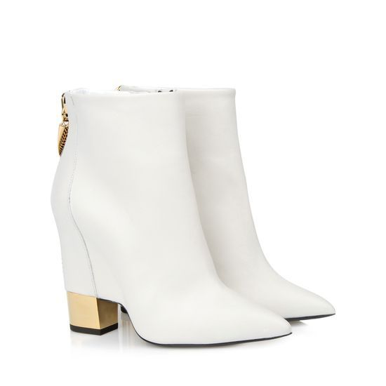 Womens White Ankle Boots - Boot 2017