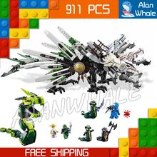 91Bela 9789 Epic Dragon Battle Building Blocks Phantom Ninja Action Figures New Toys Minifigures Model Compatible Lego - Last Canvas store