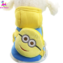 Buy DOGBABY Dog Clothes Small Dogs Winter Warm Cotton Coat Coin Pocket Pet Jacket Button Small Huang Ren Design Clothing for $3.07 in AliExpress store