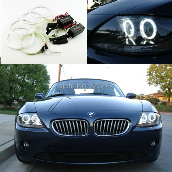 For Bmw Z4 E85 Scheinwerfer 2002 2008 Excellent Ultra Bright Illumination Ccfl Angel Eyes Kit