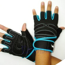 Free Shipping Weight Lifting Gym Gloves Training Fitness Workout Wrist Wrap Exercise Glove New