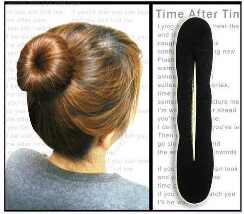 Stella free shipping 50 hair accessory ball head hair maker sponge plate hair band hair accessory