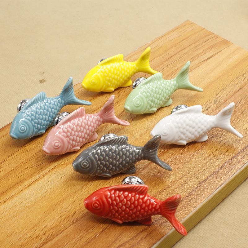 Popular fish door handles buy cheap fish door handles lots for Fish drawer pulls