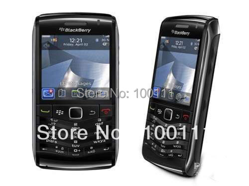 100% Original Unlocked BlackBerry Pearl 3G 9100 GPS WIFI QWERTY Keyboard Mobile Phone Free Shipping(Hong Kong)