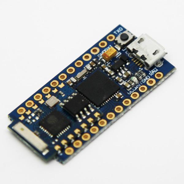 2pcs/lot Cactus Micro Rev2 tiny size Ar duino board plus WIFI chip esp8266(China (Mainland))
