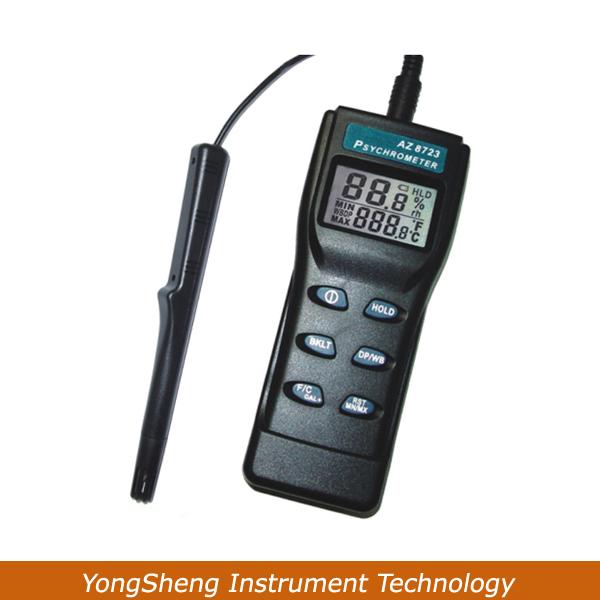 AZ-8723 Handheld Temperature,Humidity,Dew Point Meter,Wet Bulb Temperature Humidity Tester(China (Mainland))