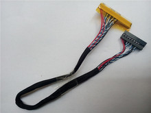 JX LVDS LCD Cable FI-X 30PIN 30-pin single 6 FIX interface definition LCD Cable Single