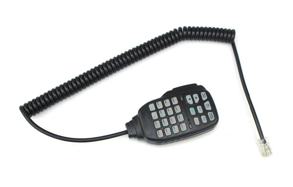 20pcs RJ-45 Plug HM-133 DTMF Mic for ICOM ID-800H ID-880H Walkie talkie two way CB Ham Radio C510 Eshow(China (Mainland))