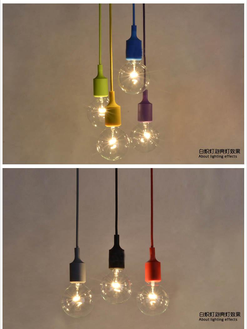 Aliexpress Buy 100cm Cord Socket Chandelier Lamp LED