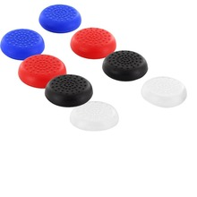 2 X Silicone Rubber Gel Analogue Thumb Grip Stick Caps for Sony Ps4 Controllers Playstation 4 Free Shipping