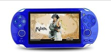 Hot sale! New 2016 4GB Handheld Game mp5 Player mp3 Player mp4 Player With Dual Joystick Camera FM TV-Out Portable shock Game Co(China (Mainland))