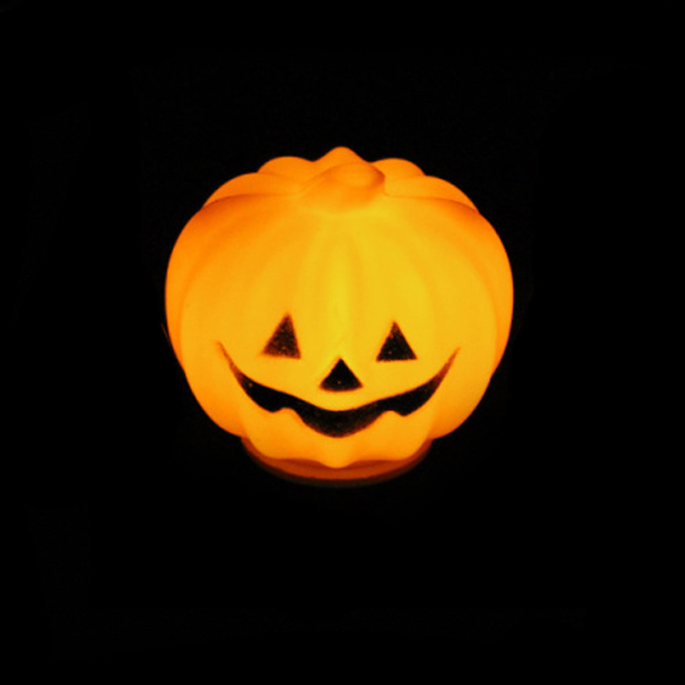 For The Happy Halloween Holiday & Cute Halloween Party Lantern Decoration Props LED Pumpkin Light Hot Smile(China (Mainland))