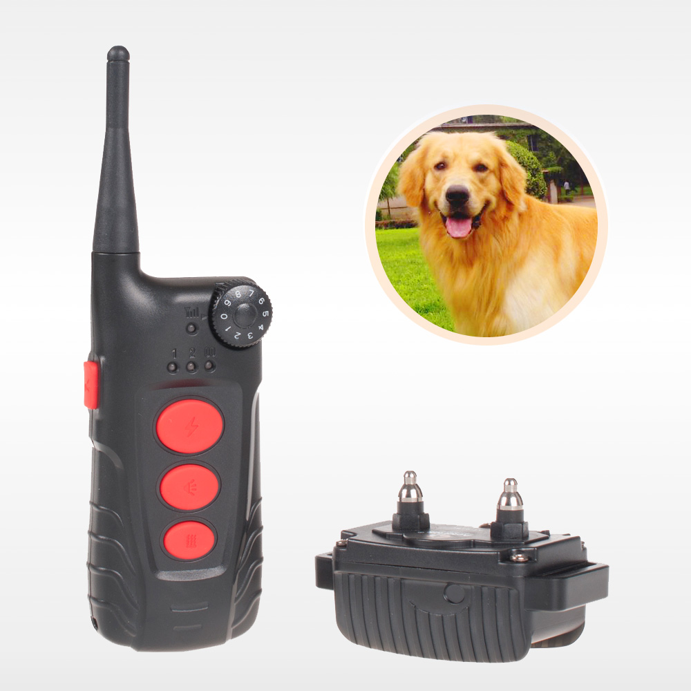 Free shipping Aetertek Newest AT-918C 1 Dog Remote Training shock Collar rechargeable 600 yds(China (Mainland))