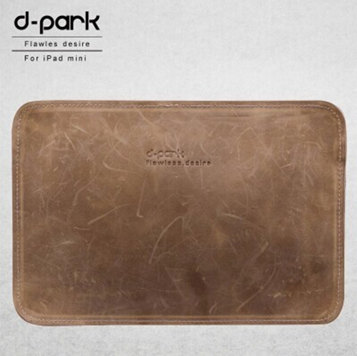 D-park Pull-up Leather Case iPad mini2 Retina Sleeve Bag Pouch 8 inch Tablet - Sweet Technology store