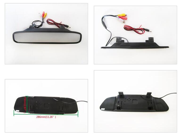 Купить Wirelss Чип SONY CCD Заднего Вида Автомобиля Обратный Монитор Зеркала КАМЕРА парковки forTOYOTA RAV4 2006-2010, 2012 год с парковкой линии