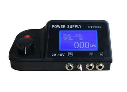 Tattoo power supply foot switch clip cord power plug for for Best tattoo power supply