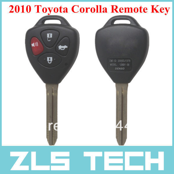 For 2010 Toyota Corolla Keyless Entry Remote Key free shipping(China (Mainland))