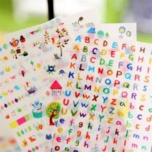 6sheets / set Creative transparent PVC kawaii stickers cute photo album decorative puzzle stickers child DIY stationery(China (Mainland))