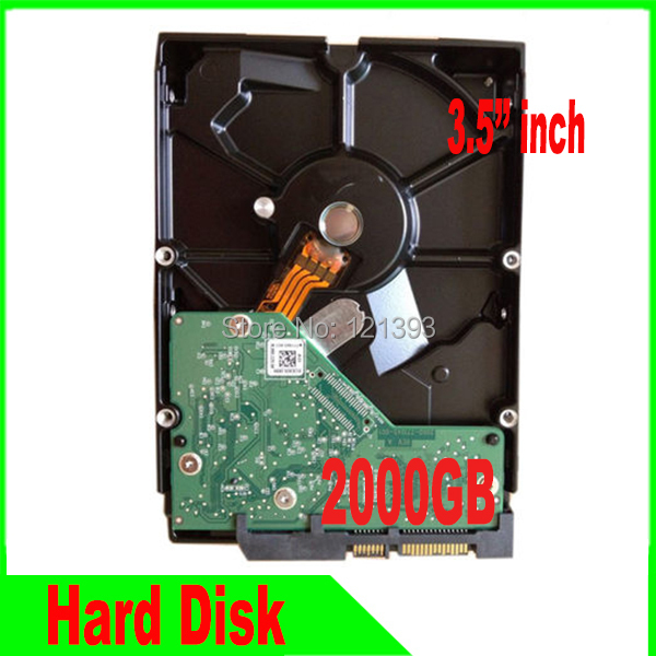 3.5 inch 2TB Hard Disk CCTV SYSTEM HDD 2000GB for Surveillance systems freeshipping<br>