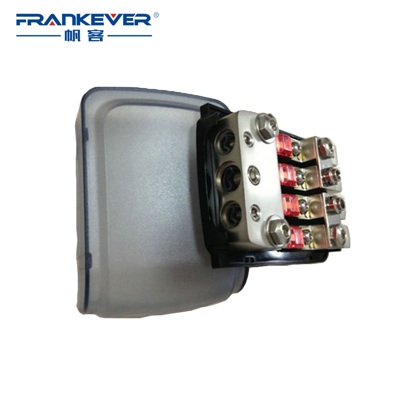 2016 Super Deal Small Size 12V AFS Fuse Hold Frosted Clear Nickel Plated Auto Car 12V Mini ANL Fuse Holder Adapter Free Shipping(China (Mainland))
