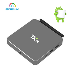 Buy TX8 Android 6.0 Amlogic S912 Octa core Set top box 2G 32G Android TV Box HDMI H.265 WIFI Media Player Smart tv box 5PCS for $304.31 in AliExpress store