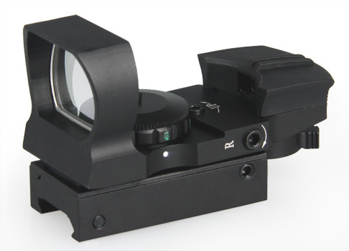 Фотография High Quality Tactical Holographic 4 Reticle Red Green Dot  Reflex Sight Scope with Mount For Hunting CL2-0062
