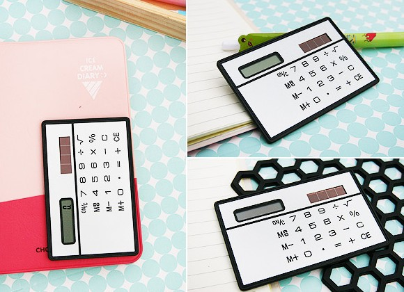 2015 New arrival hot sale High quality ultra-thin Solar panels type portable card calculator solar calculator free shipping(China (Mainland))
