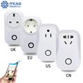 image for Sonoff EU/US/UK Wireless WiFi Timer Socket 10A 2200w Remote Power Supp