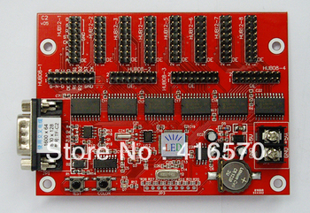 5Pcs/Lot Serial Port TF-C2 LED Display Control Card For Single/Dual/Full Color Support  Chinese,English,Turkish,portuguese