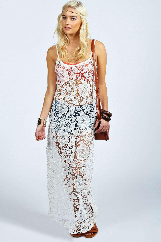 White Beach Dresses For Women