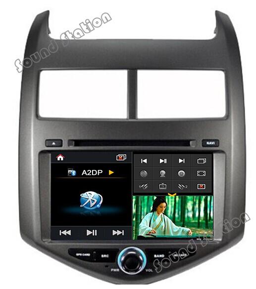 For Chevrolet Aveo Sonic Touch Screen Car DVD Radio GPS Navigation Sat Navi Head Unit Autoradio Media Center Audio Video Player(China (Mainland))