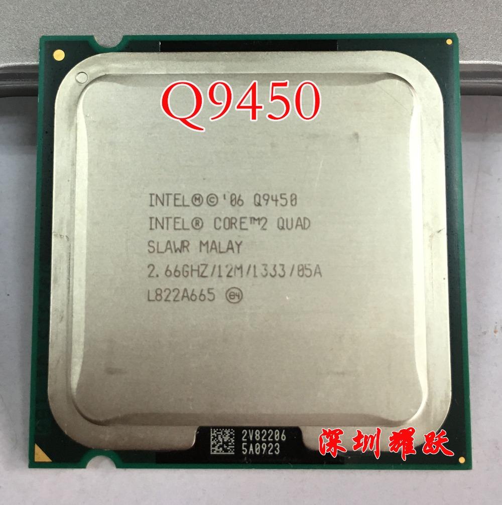 Intel Core2 Quad Processor Q9450 (12M Cache, 2.66 GHz, 1333 MHz FSB) LGA775 Desktop CPU(China (Mainland))