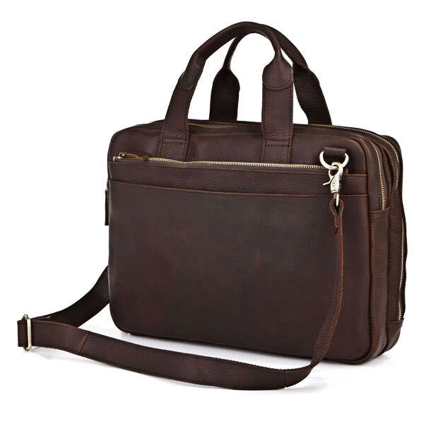 Здесь можно купить  High quality vintage bag 100% genuine leather men messenger bags cowhide men briefcase business shoulder bags laptop #VP-J7092  Камера и Сумки