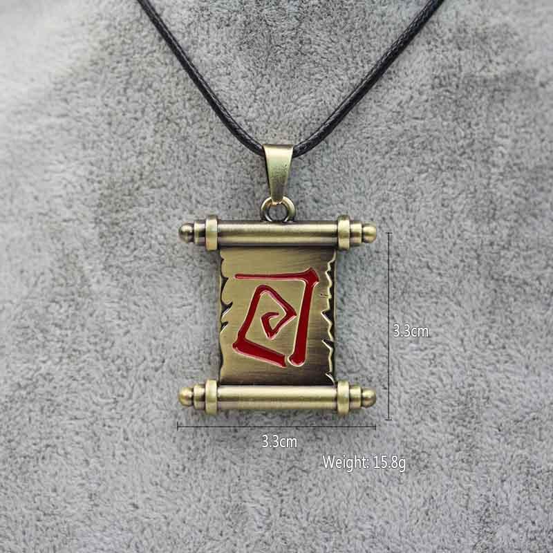 Game Dota 2 Transfer Reel Pendant Necklace Unisex Alloy Movie Jewelry 12 pcs/lot(China (Mainland))