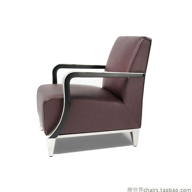 Chair of the world - stainless sofa parlor sofa lounge chair Reception desk chair high quality SS-2022S(China (Mainland))