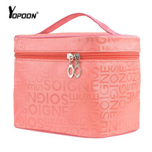 Cosmetic Cases Big Capacity Lunch Makeup Bag Handbag Necessities Storage Organizer Multifunction Travel Wash Bags Cosmetic Boxes(China (Mainland))
