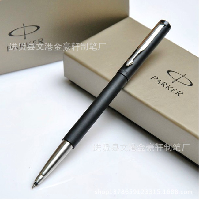 Free Shipping roller pen parker pens office supplies school black color ballpoint pen parker original metal pen promotion gift(China (Mainland))