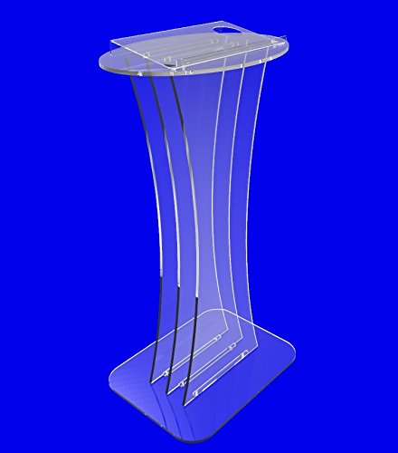 Fixture Displays Clear crystal Acrylic Lucite Podium Pulpit Lectern(China (Mainland))