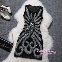 new 2016 fashion woman brand high quality embroidery summer dress,party dress, women clothing,dresses new fashion 2016(China (Mainland))